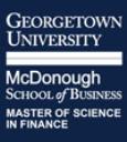 Prof. Allan Eberhart, Director of the Georgetown University MSF Program