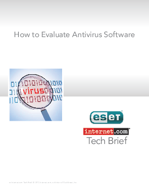 research papers on antivirus software Antivirus software consists of computer programs that attempt to identify, thwart and eliminate computer viruses and other malicious software (malware) in the virus dictionary approach, when the antivirus software examines a file, it refers to a dictionary of known viruses that the authors of the antivirus software have identified.