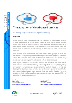 the adoption of cloud ais A growing organisation is bequeathed with many benefits and certain impediments upon adoption of the cloud based ais this report is poised to deliberate on the modus operandi as well as pros and cons of adoption of ais.