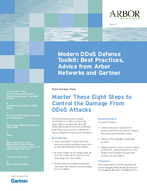 ddos research paper In section ii, i put our ideas within the context of prior and ongoing research related to ddos attack detection  which is defined earlier in the paper 3 suitable algorithm.