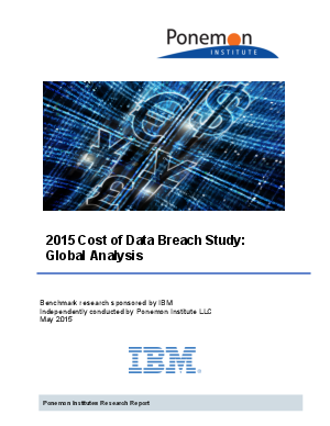 data breach research paper The most important issue in these instances is maintaining confidentiality of private data the risk to employees due to a breach in research data from the.