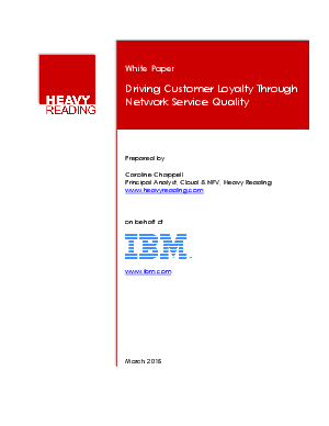 customer driven quality paper In this paper, we describe our view of what customer-driven quality management is about and then explore several approaches that the company, associated with two of the authors, is exploring for its.