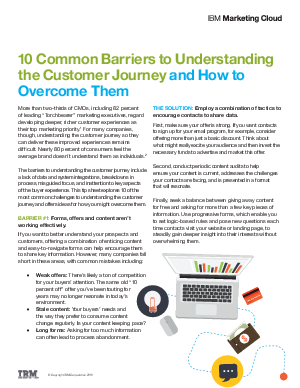 common barriers to integrated working